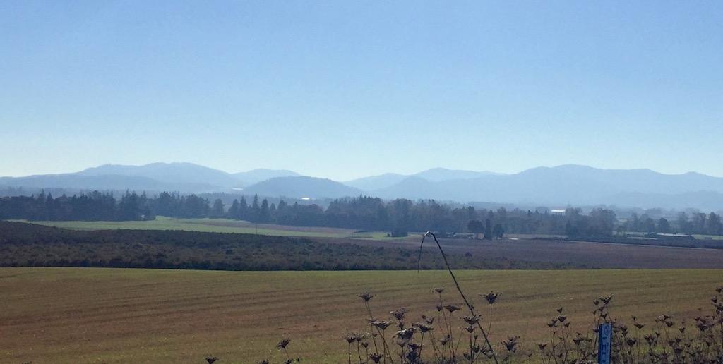 View of the Coast Range