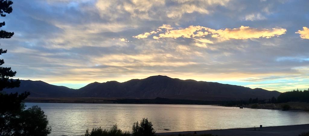 Dusk at Lake Tekapo