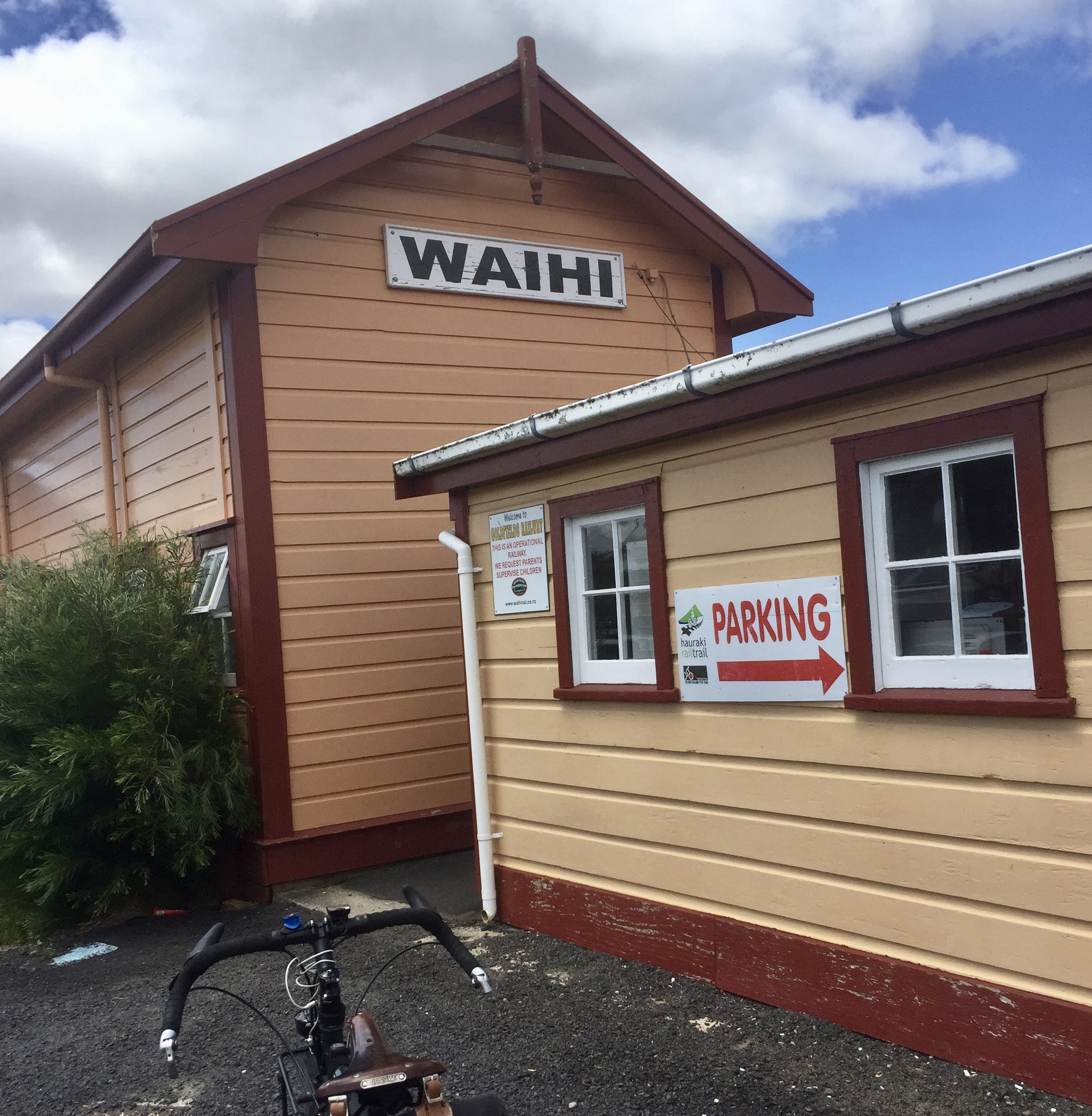 Waihi train station