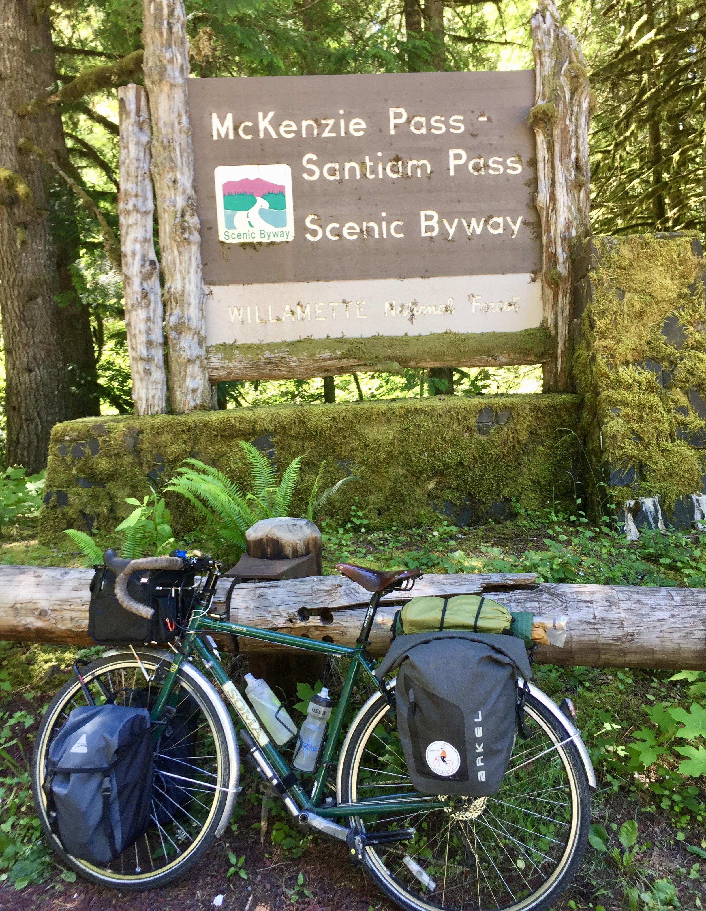 McKenzie Pass Scenic Byway