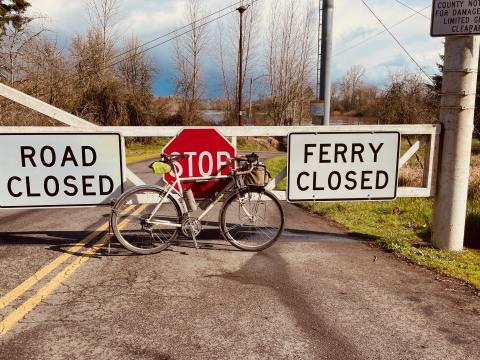 Ferry closed